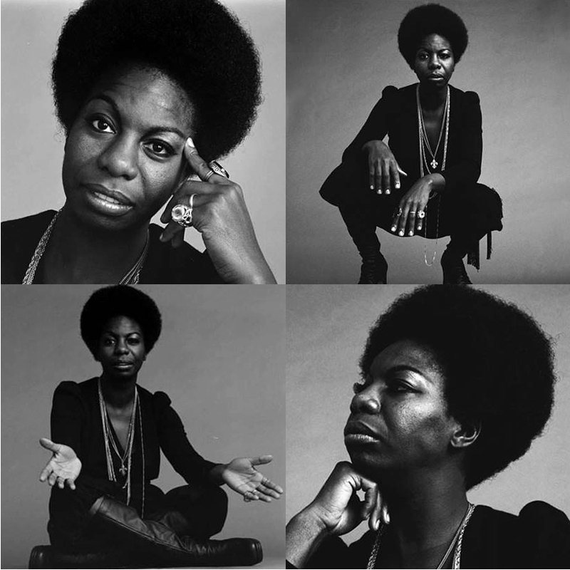 Nina Simone by Jack Robinson (Jack Robinson Gallery) in October of 1969 (http://robinsonarchive.com/)