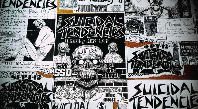 suicidal tendencies wall