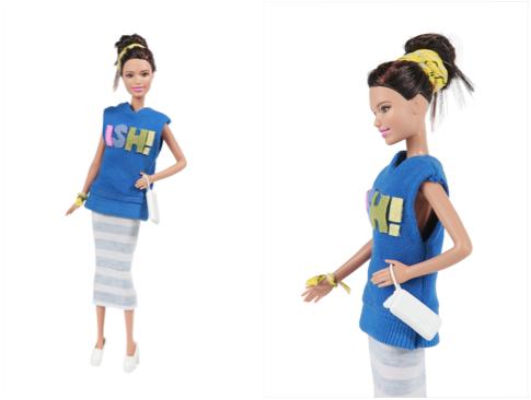 la Barbie Amsi Boyish