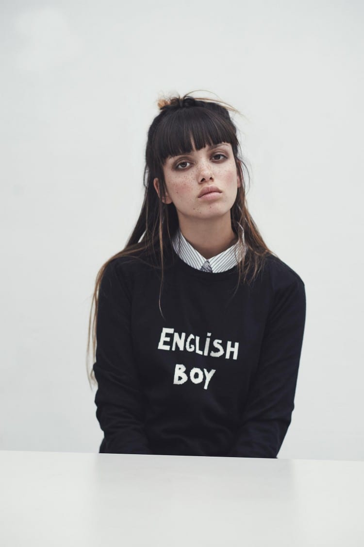 Pull « English Boy », 220€
