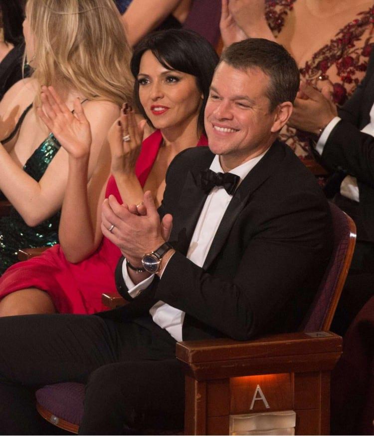 Matt Damon et Luciana Barroso – Van Cleef & Arpels – Photo by Rex/ Shutterstock