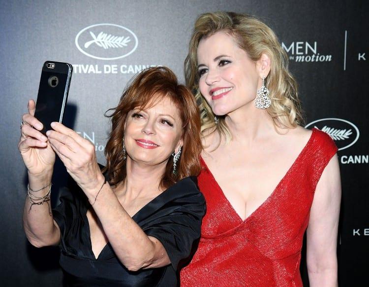 Geena et Susan refont une des scènes du film, 25 ans après
