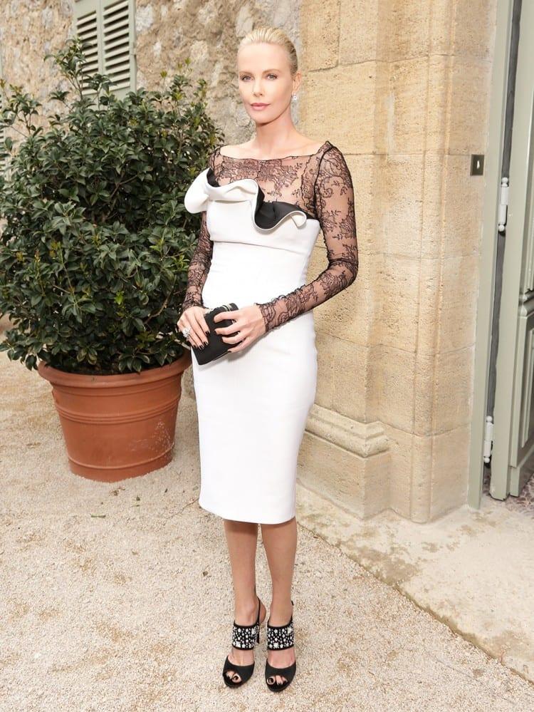 Charlize Theron par François Goizé pour Christian Dior Parfums