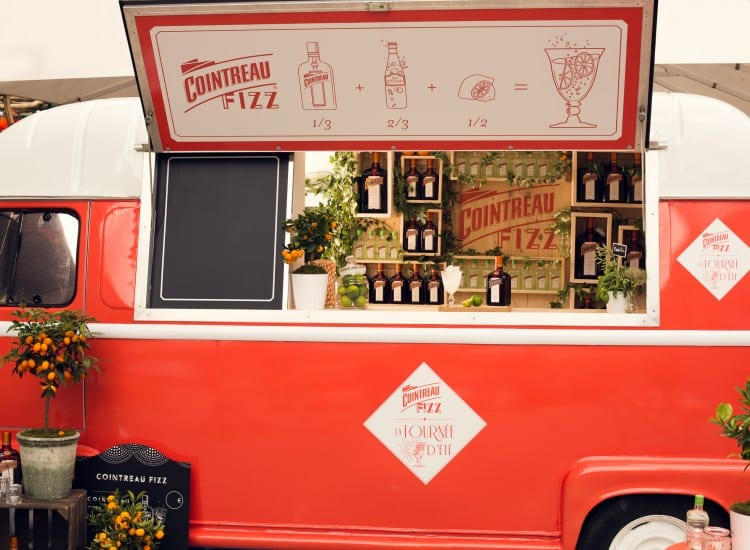 Cointreau Tournée d'Ete - Bar Mobile