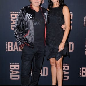 Renzo Rosso & his wife