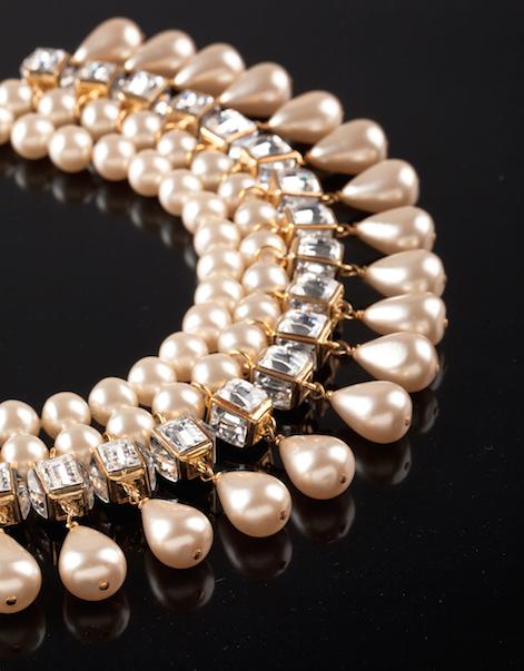 Collier chanel perle prix
