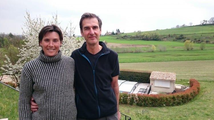 Laurence et Philippe Focard du mAS DE FONTEFIGUIERES