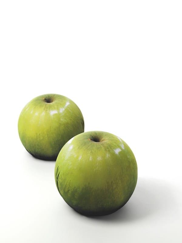 Tattoo Eve : des sièges en forme de pomme crés par Baleri Italia