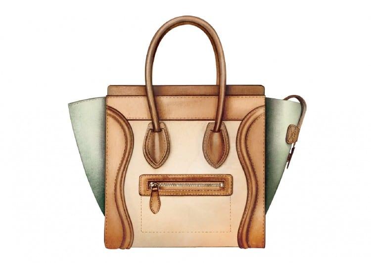 n°7: Le luggage de Celine a été également inventé par Phoebe Philo (en 2010). les soeurs Olsen, pour ne citer qu'elles, sont fans de ces formes originales.