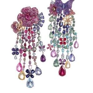 RIHANNA ♥ CHOPARD Haute Joaillerie collection earrings 1