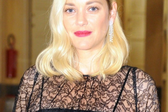 Marion Cotillard wears Chopard at Green Carpet Fashion Awards (1)