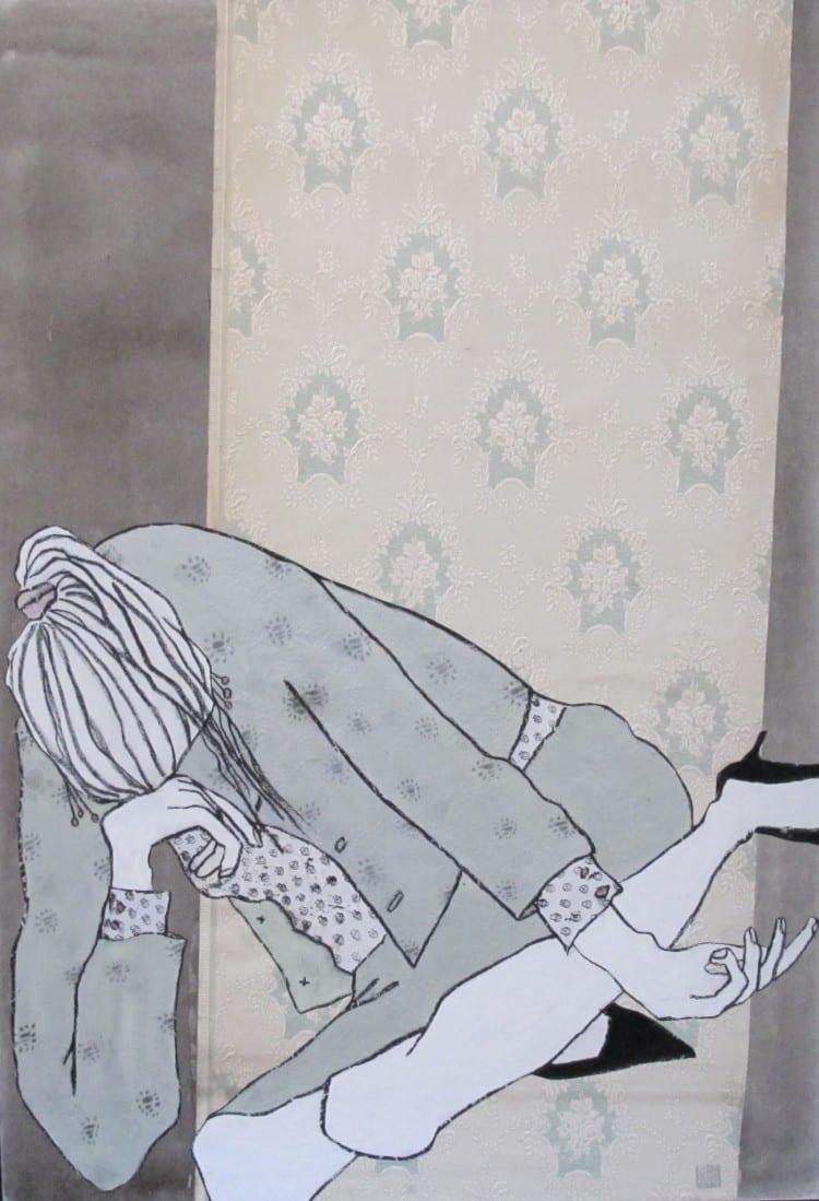 Ella & Pitr_La bourgeoise dépressive_Courtesy Galerie Le Feuvre