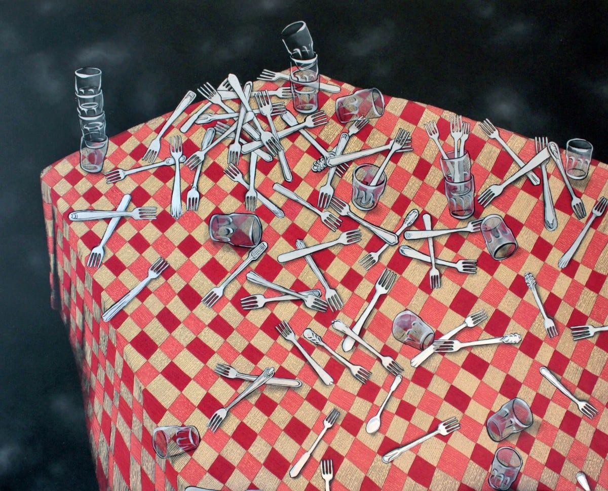 Ella & Pitr_Sans Titre (fourchettes)_Courtesy Galerie Le Feuvre