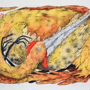 Ella & Pitr_Sans Titre (oiseau)_Courtesy Galerie Le Feuvre
