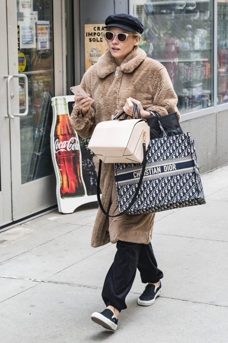 Diane Kruger - Backgrid for Dior