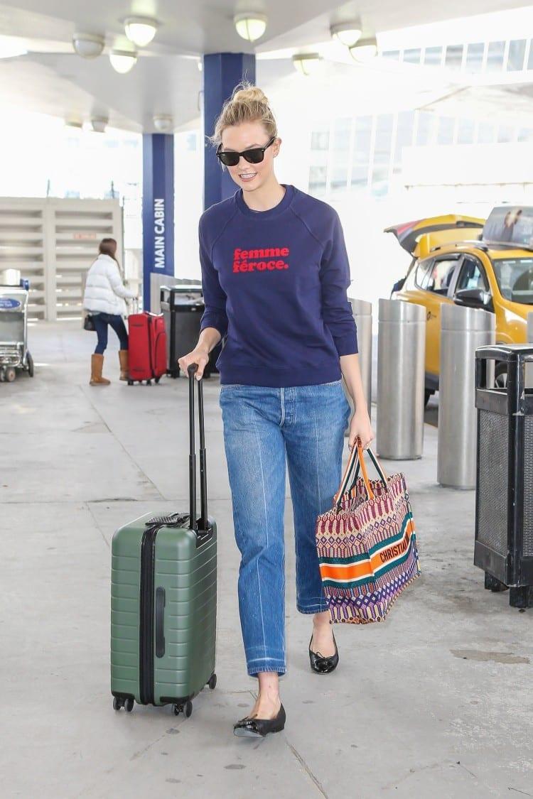 Karlie Kloss - Backgrid for Dior
