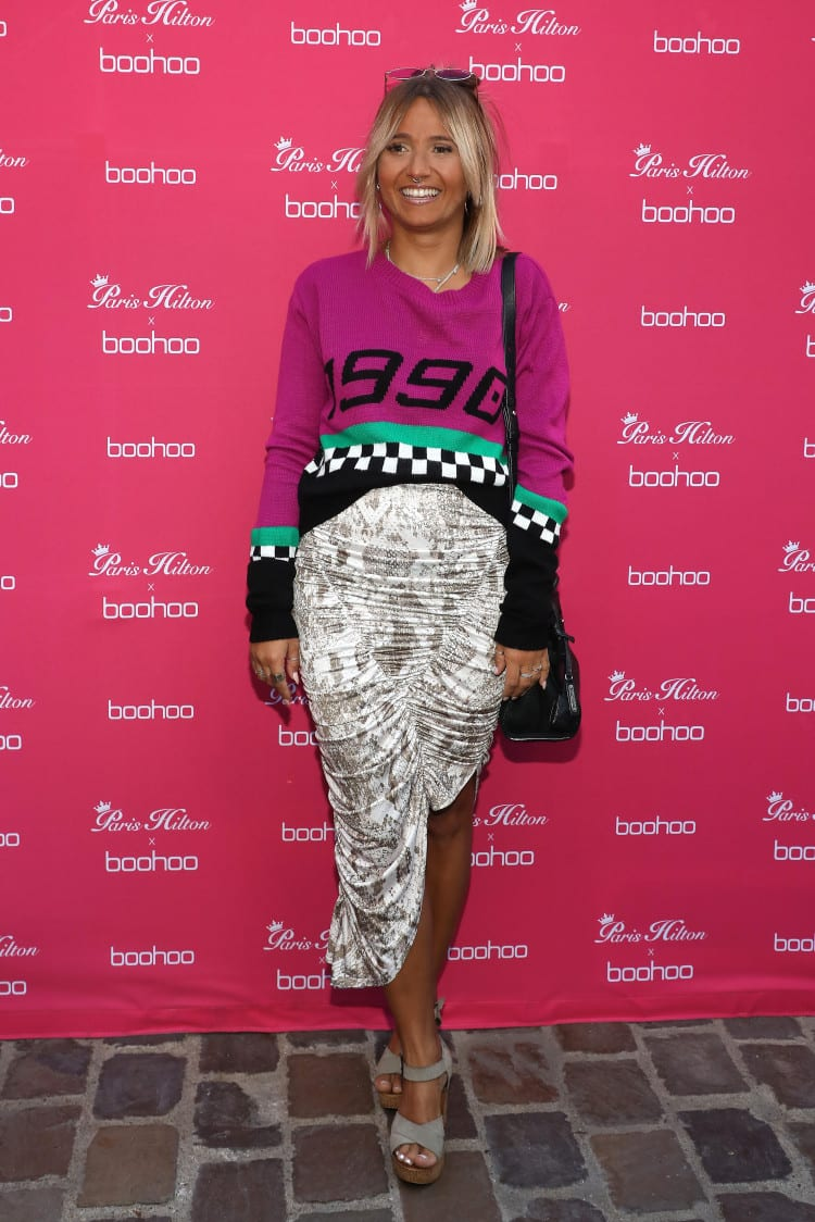 Paris Hilton x Boohoo Party in Paris - Photocall