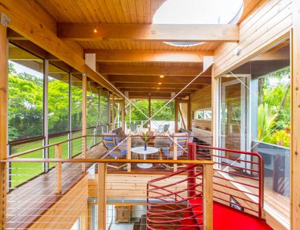 Fishman : Kurokawa House par Craig Steely - Pāhoa, Hawaii