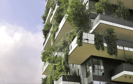 Forêt verticale par Stefano Boeri - Milan, Italie