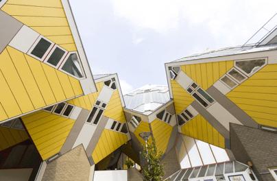 Maison Cube par Piet Blom – Rotterdam, Pays-Bas