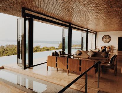 Maison par Shigeru Ban Architects - Mirissa, Sri Lanka