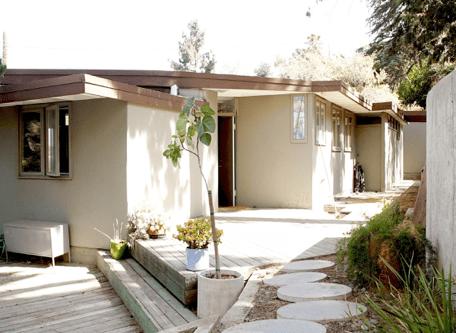 Southall Studio par Rudolph Schindler - LA, Californie